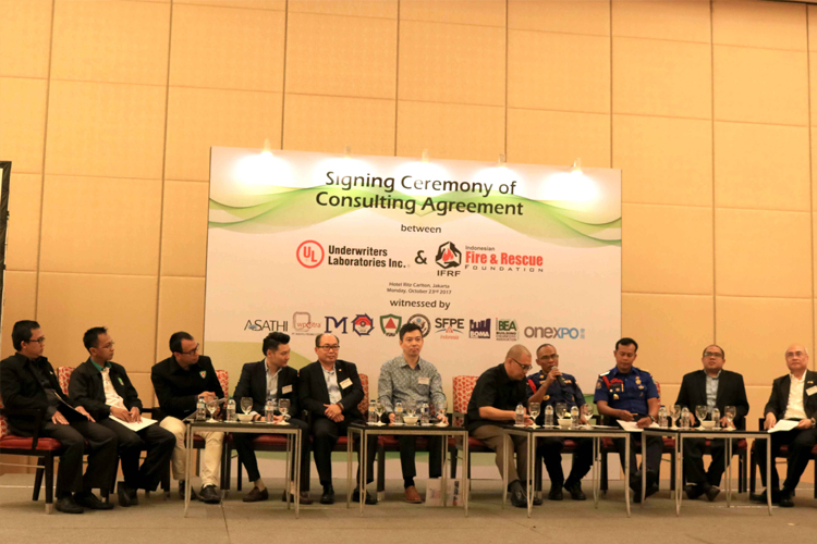 Talkshow UL, IFRF, Kadis Damkar DKI,MP2KI, IFSMA, LSP-PK, BEA