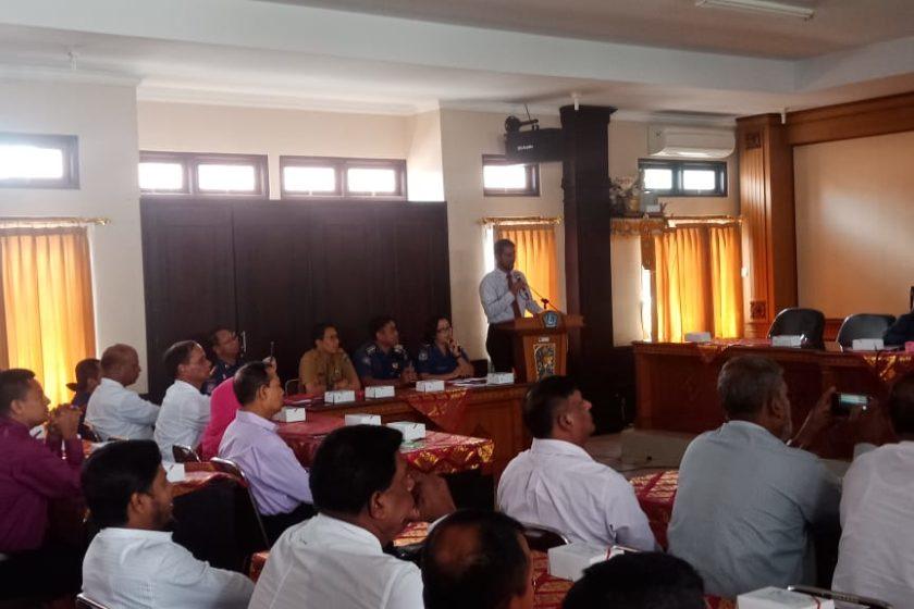 Kunjungan kerja Direktorat Fire Service dan Civil Defence (BFSCD) ke Badung (Bali)